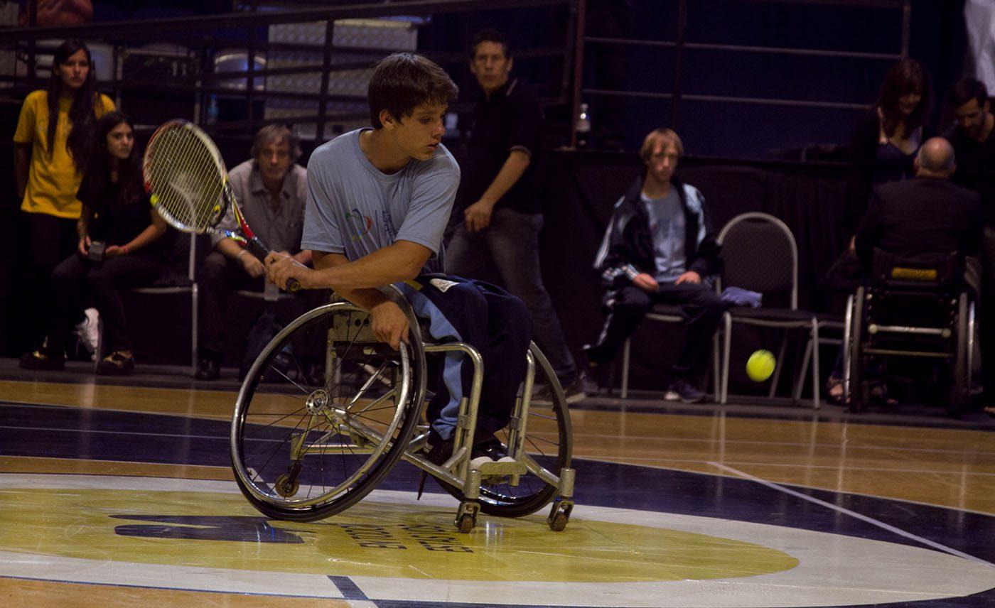 Así es el tenis en silla de ruedas