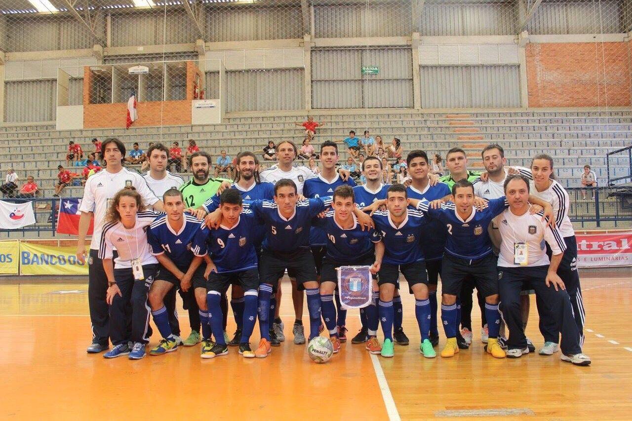 Sudamericano de Futsal para Sordos: Argentina va por el bronce en ambas disciplinas
