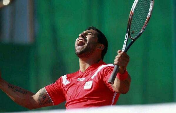 Robinson Méndez, el campeón del tenis que late fútbol