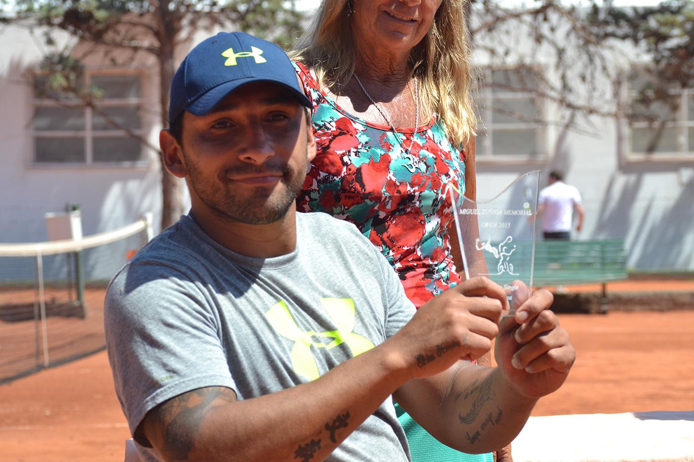 Tenis en silla de ruedas: Robinson Méndez campeón del Open Zúñiga 2015