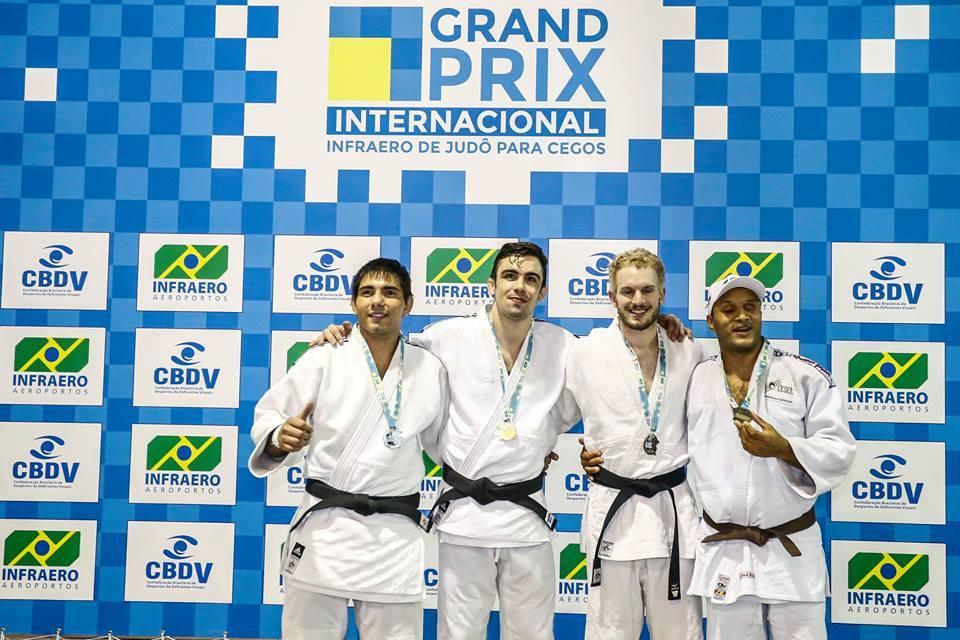 Judo para ciegos: Argentina se trajo 6 medallas de Brasil