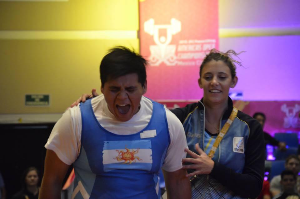 Pesas: récord mundial argentino en México