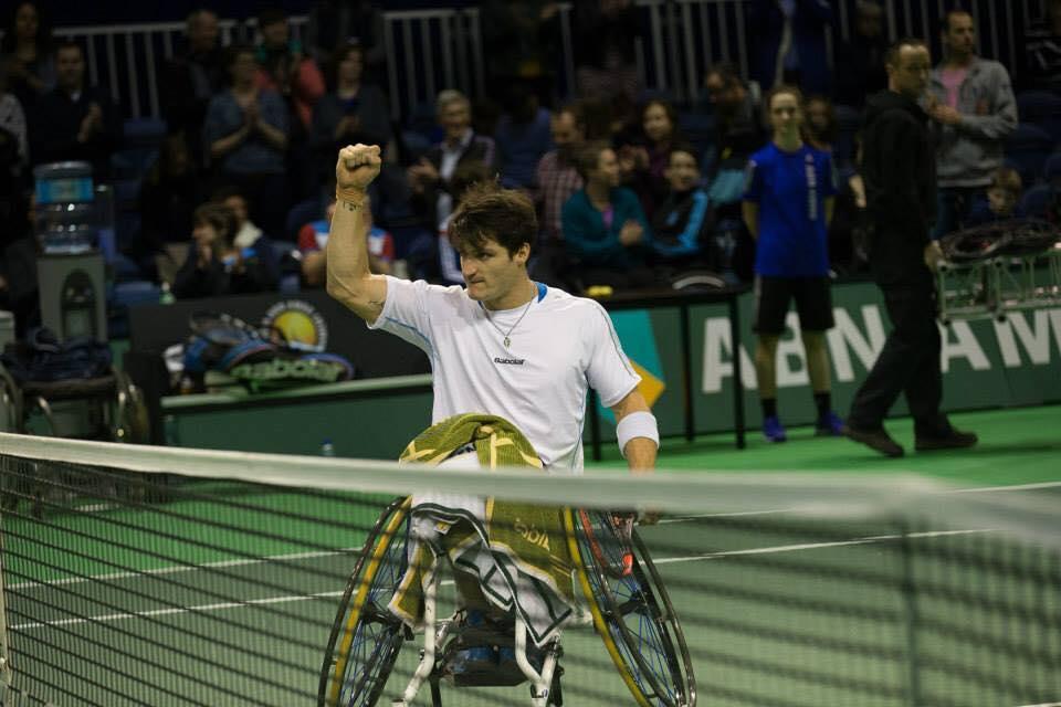 Tenis en silla de ruedas: Gustavo Fernández, eliminado en Sudáfrica