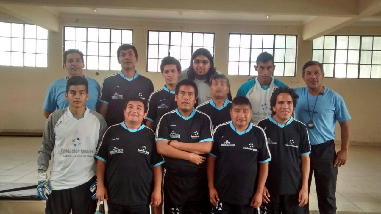 Fútbol para ciegos: Fundación Iguales, imparable