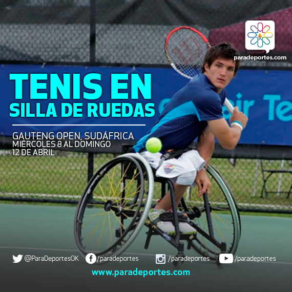 Tenis en silla de ruedas: Fernández, eliminado en Sudáfrica