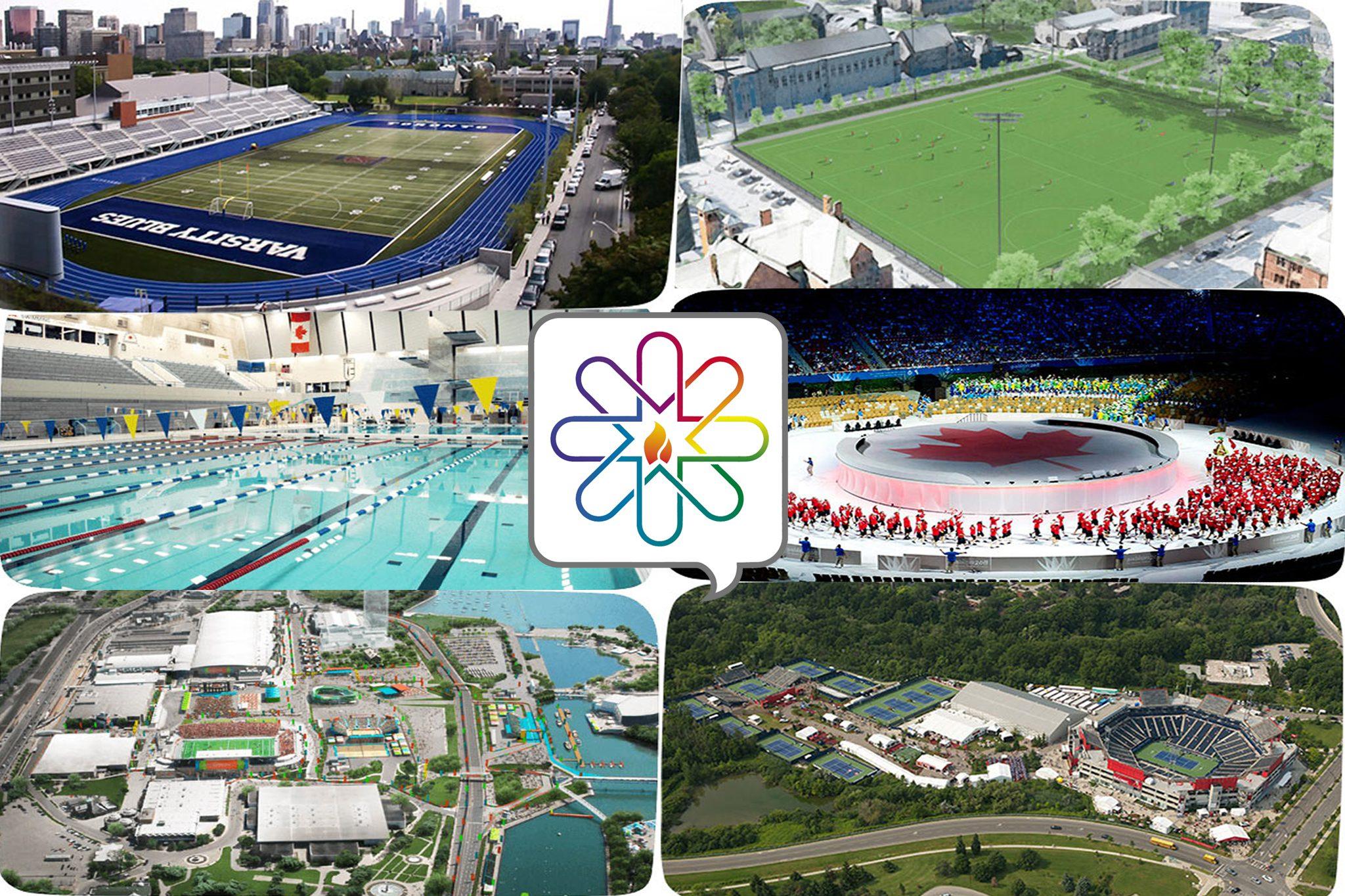 Conocé las sedes de los Parapanamericanos de Toronto