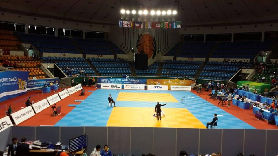 Judo adaptado: Lencina y Effrón sumaron valiosos puntos en Corea del Sur