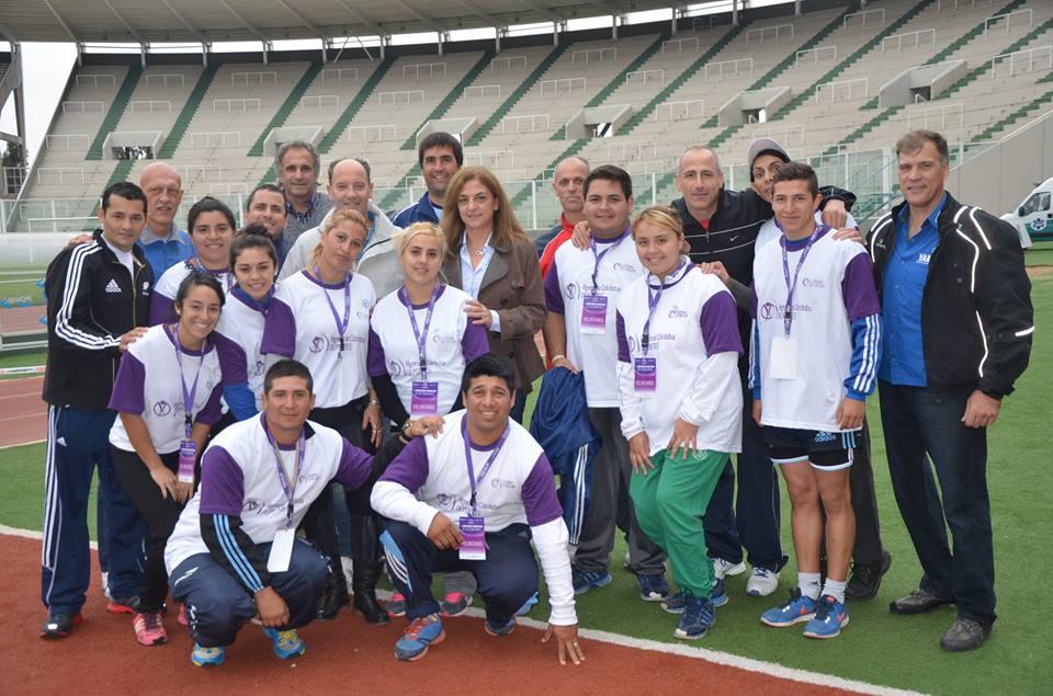 Atletismo adaptado: Córdoba disfrutó del Campeonato juvenil