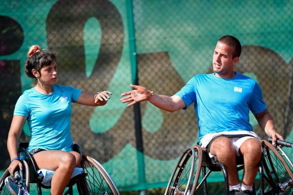 Tenis en silla de ruedas: Argentina sin Bronce
