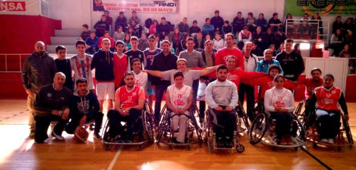 Río Cuarto tendrá la primera escuela de básquet adaptado