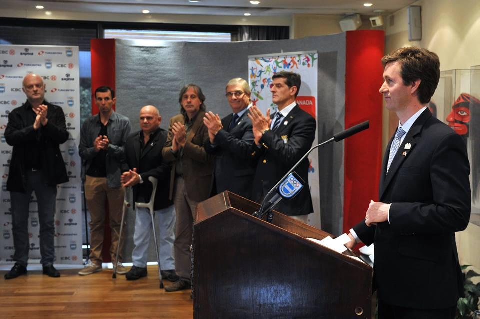 Cumbre Argentina en la embajada de Canadá