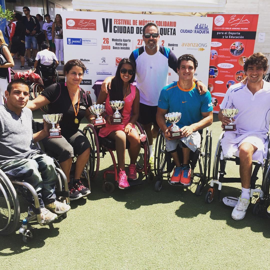 Tenis adaptado: Fernández, campeón en Madrid