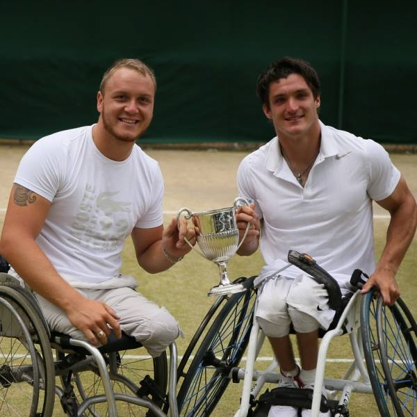 Histórico – Tenis adaptado, dobles: Gustavo Fernández, primer argentino campeón masculino en Wimbledon