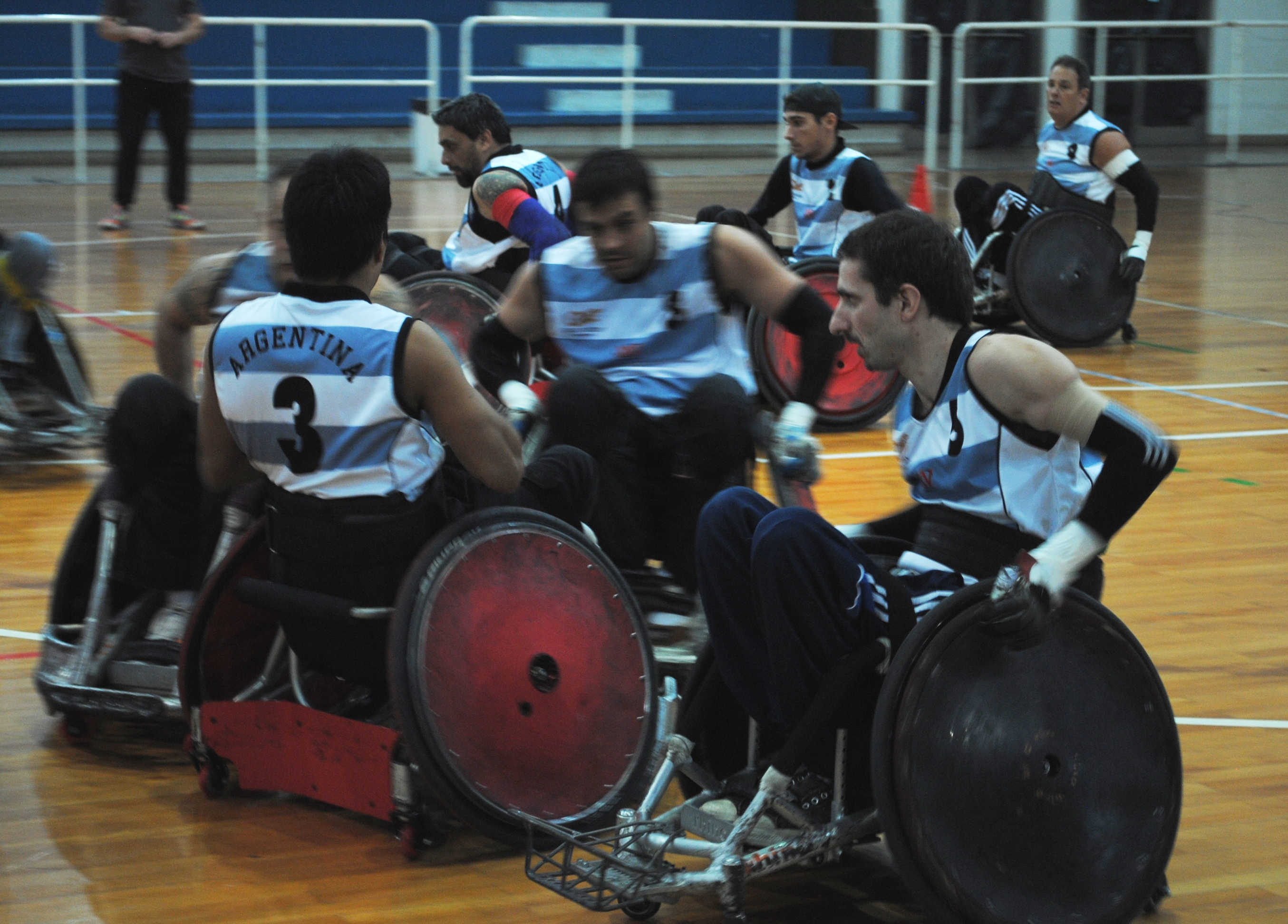 Quad rugby: Argentina superó a Chile con comodidad