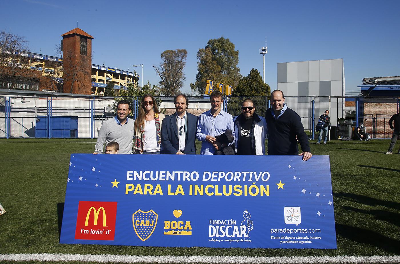 """Con la participación de Paradeportes.com, se realizó en Boca un """"Encuentro deportivo para la inclusión"""""""