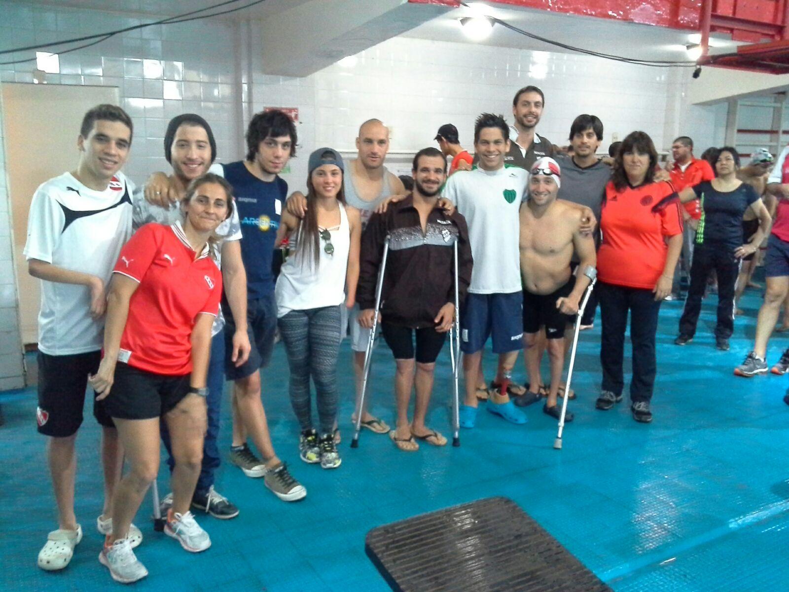 La fiesta de la natación adaptada se mudó de Toronto a Avellaneda