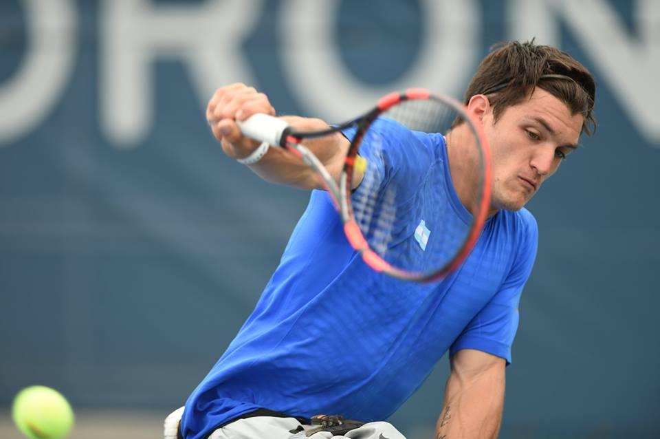 Gustavo Fernández, entre los favoritos en el tenis