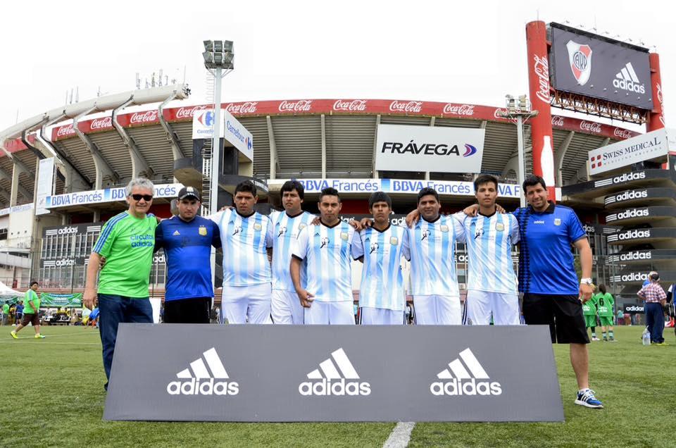 El Fútbol inclusivo vivió su fiesta inolvidable