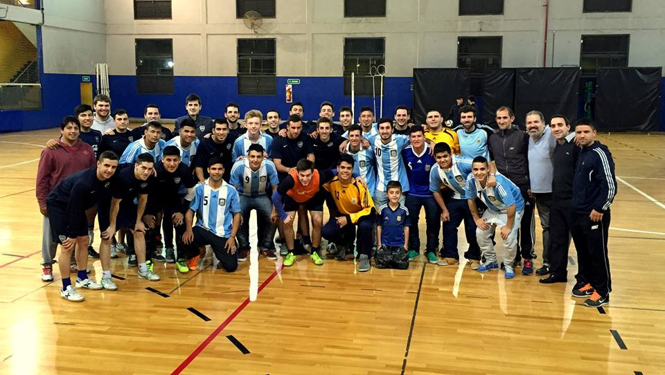 Futsal para sordos: Los Jabalíes entrenaron junto a Boca