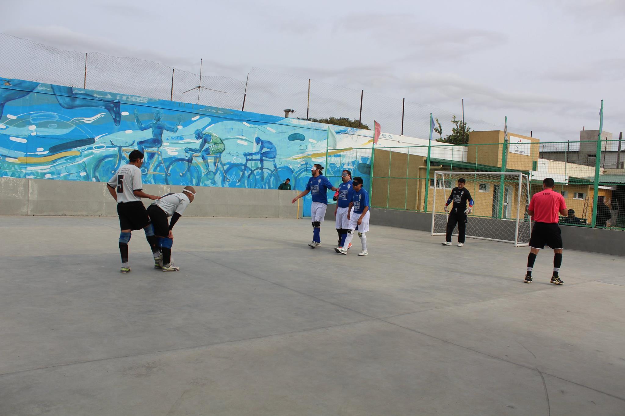 Fútbol para ciegos: ACHADEC, el dueño de la Zona Norte