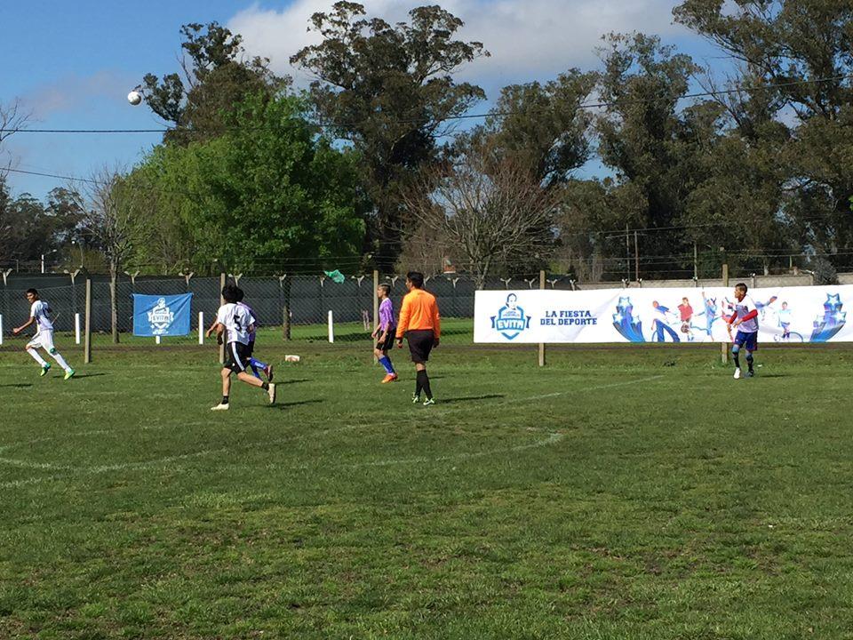 El Fútbol 7, presente en los Juegos Evita