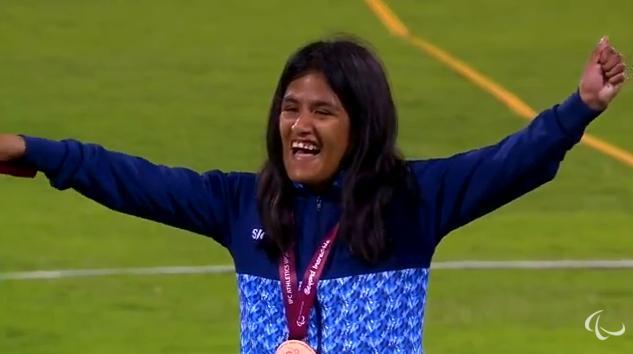 Atletismo adaptado: Yanina Martínez, primera medalla argentina en el Mundial de Doha