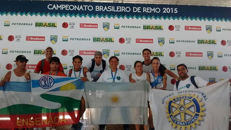 Remo adaptado: Argentina y un buen paso por Brasil