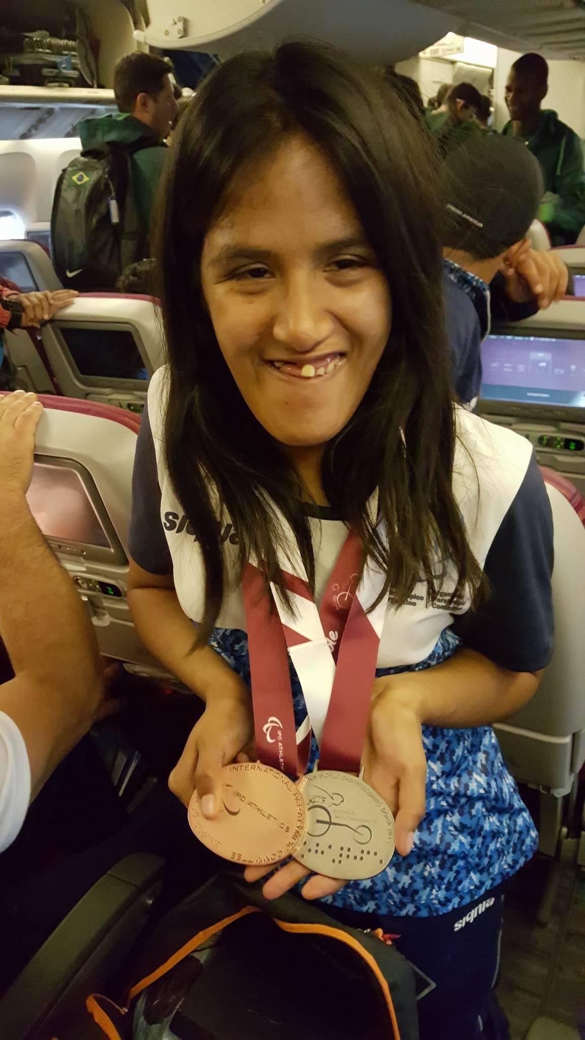 Atletismo adaptado: Yanina Martínez, la chica 10