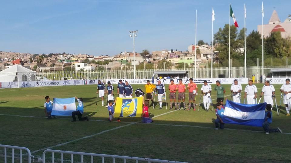 Fútbol para amputados: Argentina, semifinalista de la Copa América
