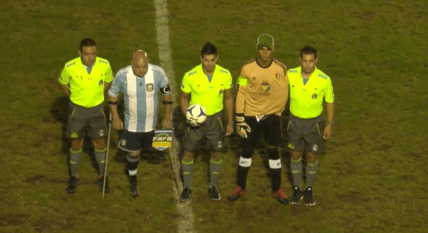 Fútbol para amputados: Argentina, finalista de la Copa América