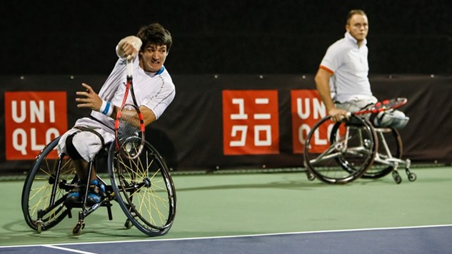 Derrota de Fernández en el Masters de dobles