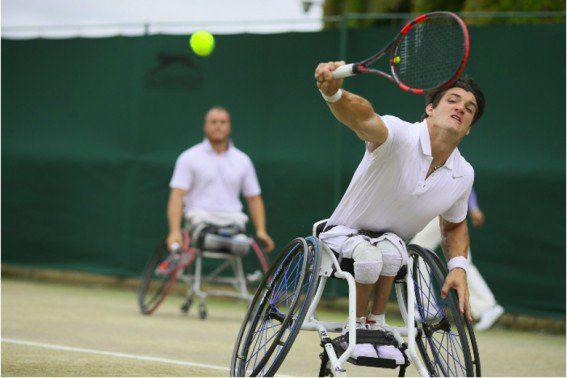 Tenis adaptado: Fernández llegó hasta semifinales