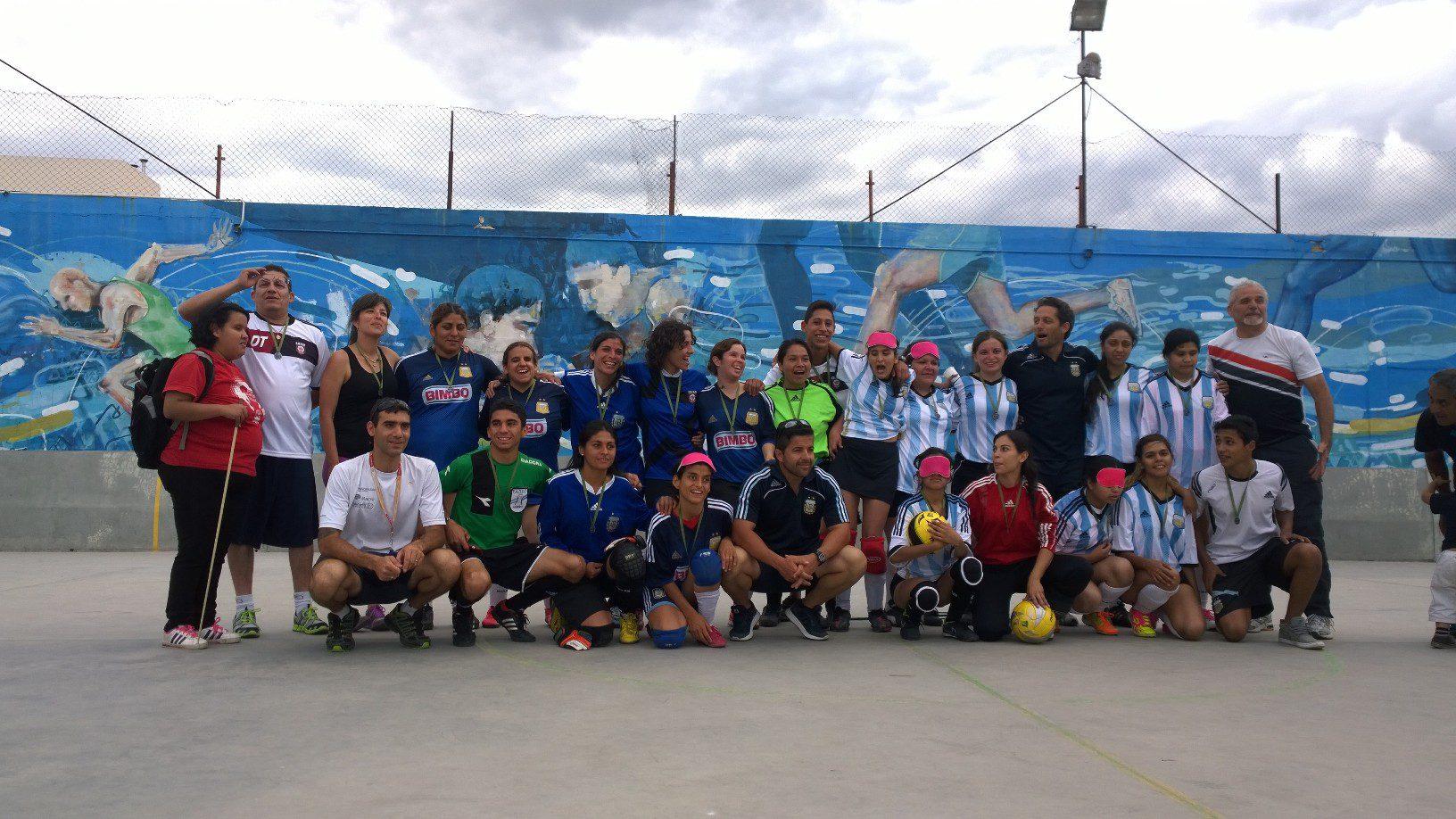 El fútbol para ciegos femenino dio el presente en Córdoba