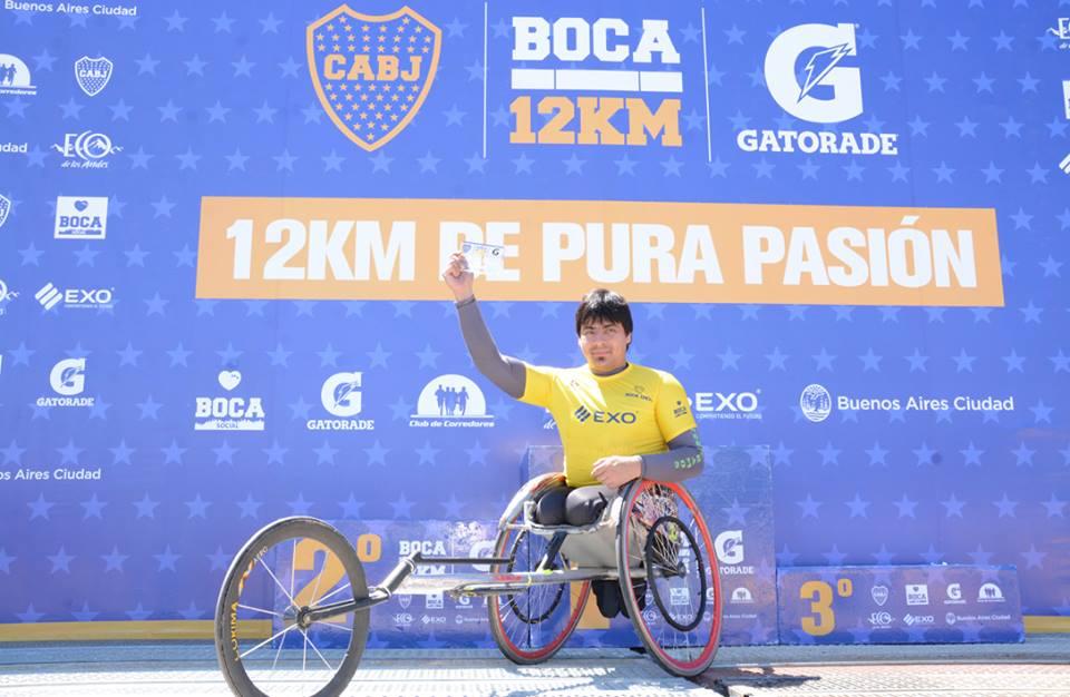 Espacio para el deporte adaptado en La Carrera de Boca