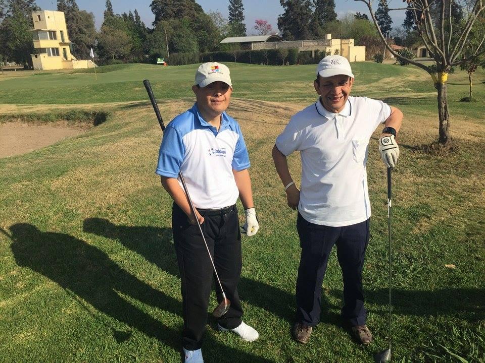 Golf adaptado: se lanzó una escuela en Salta
