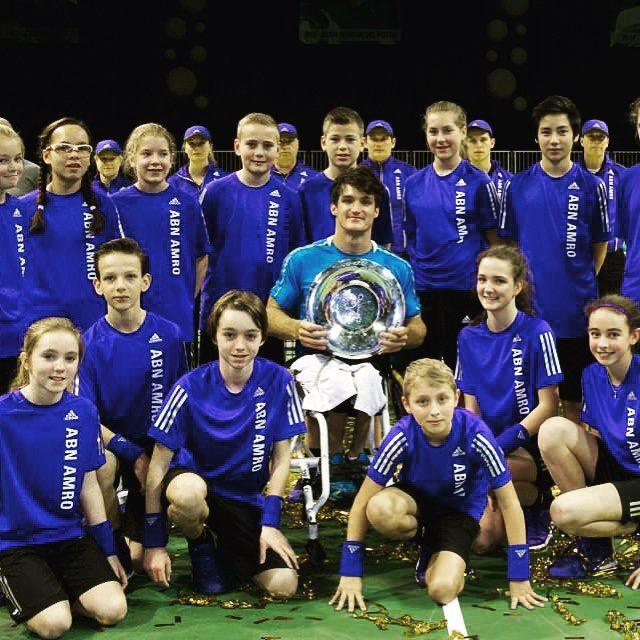 Tenis adaptado: Fernández arranca la defensa del título en Rotterdam