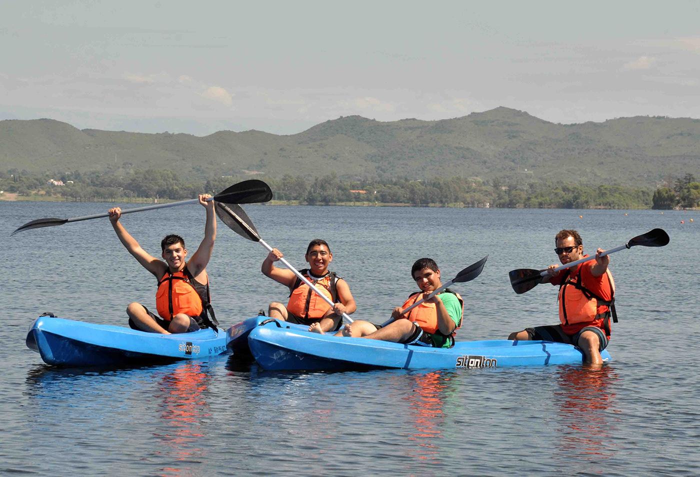 Embalse recibió la primera jornada de deportes náuticos adaptados de 2016