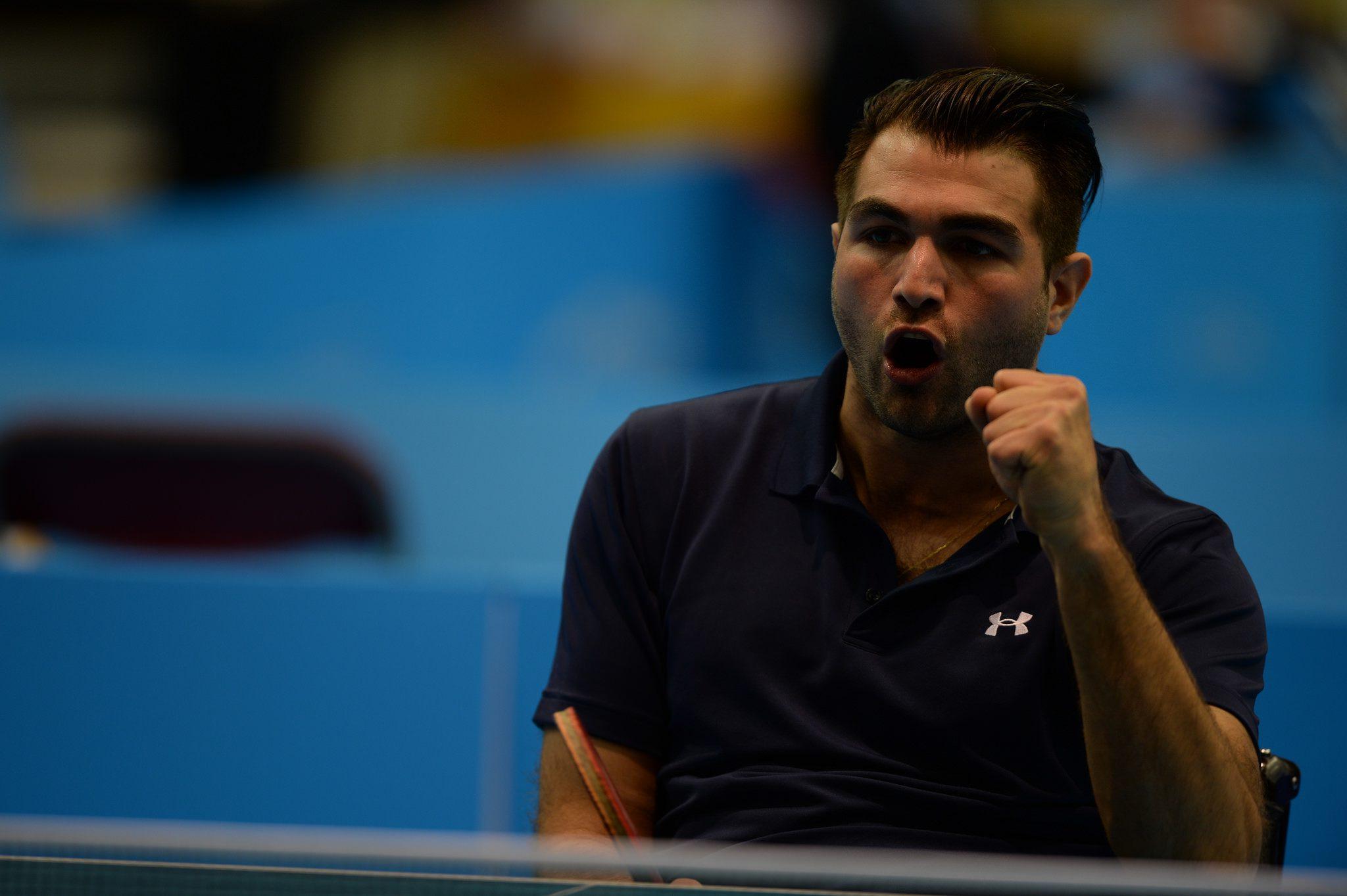 Tenis de mesa adaptado: Copola vuelve al top 5 mundial