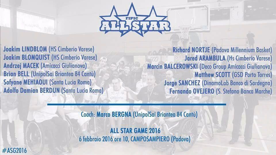 Berdún y Ovejero presentes en el All Star Game de Italia