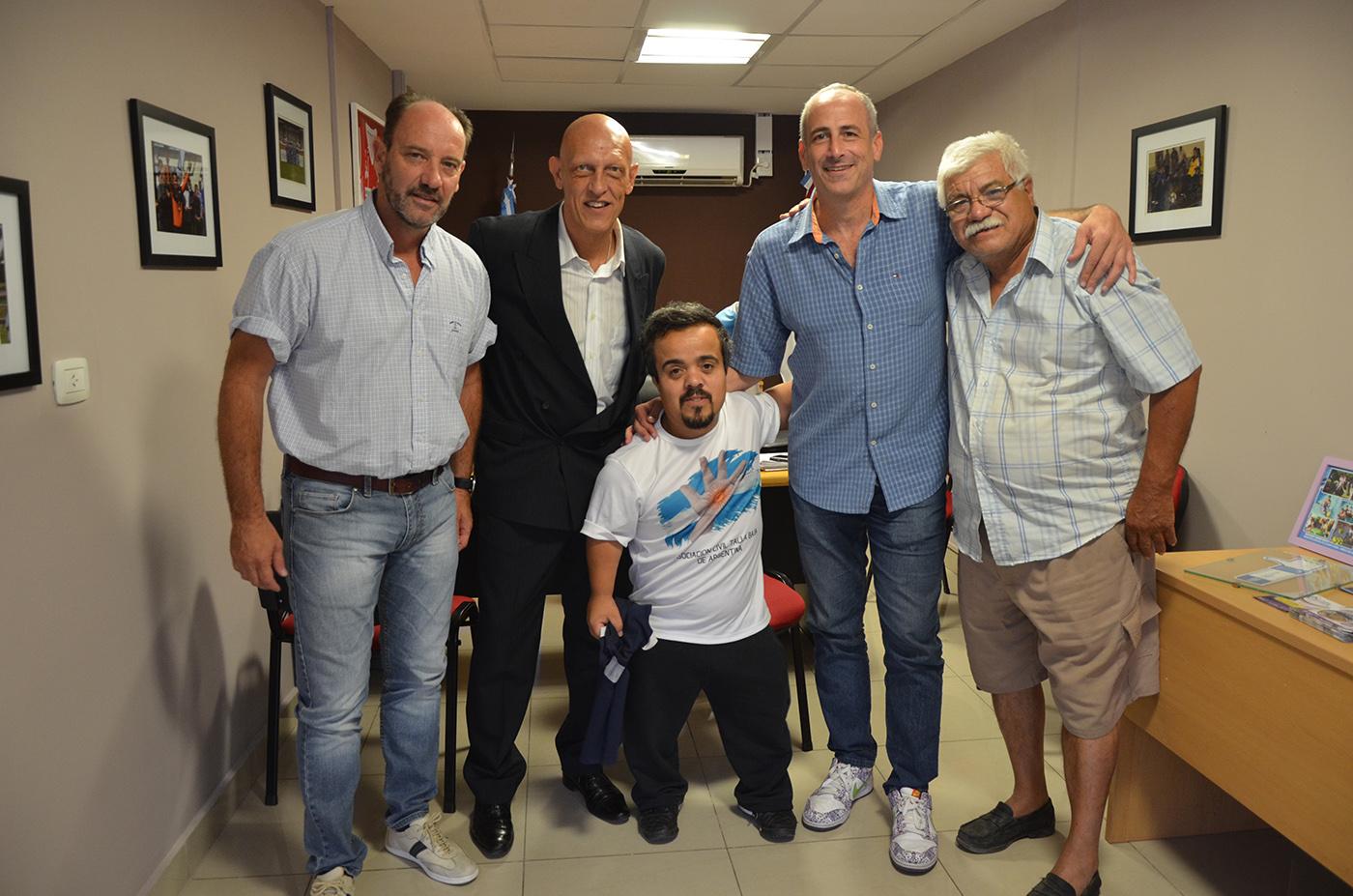 """El programa """"Córdoba Te Incluye"""" suma el fútbol para personas de talla baja"""
