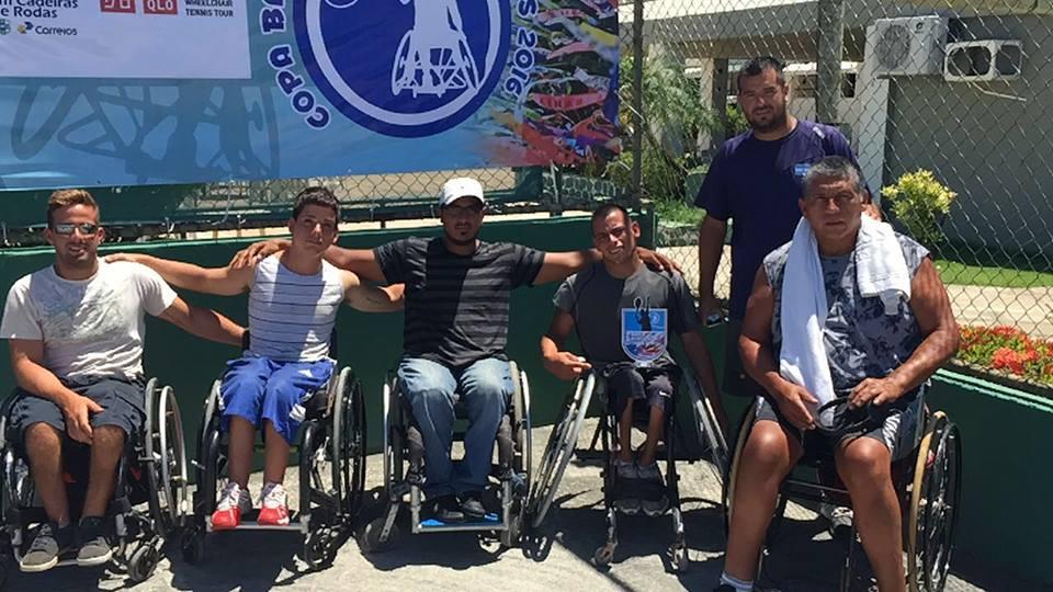 Tenis adaptado: Casco no pudo en la final de la Copa Bahia
