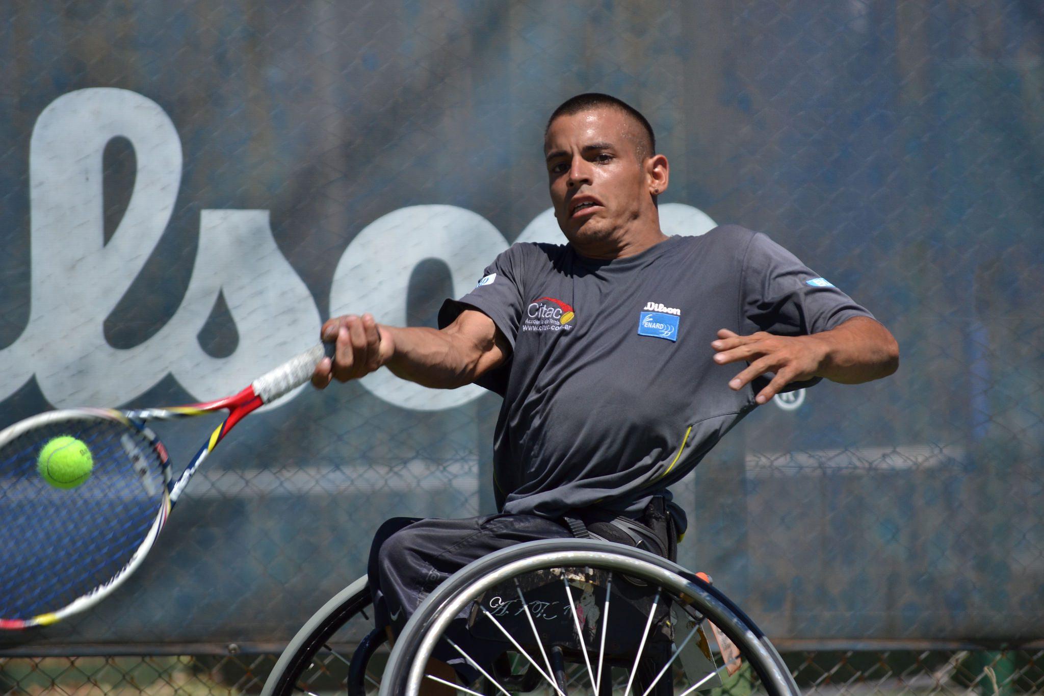 Tenis adaptado: los argentinos imponen presencia en Baton Rouge