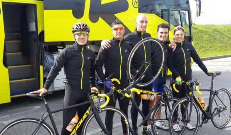 Ciclismo adaptado: Argentina se entrena en Italia