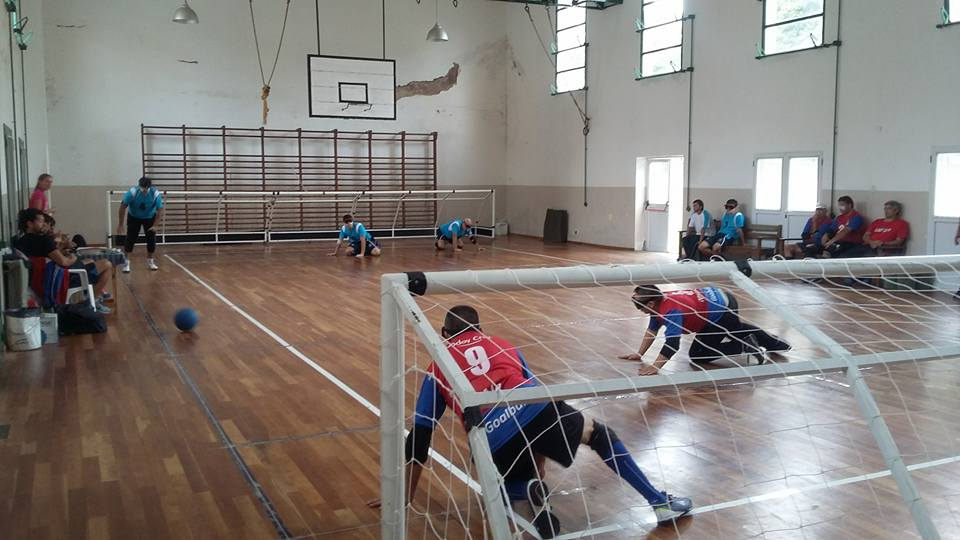 Goalball: se juega la 5ª fecha del Metropolitano