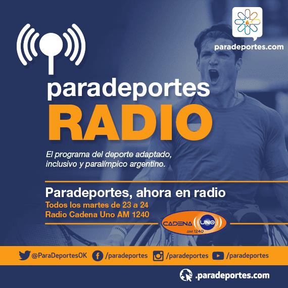 """Entrevista a Martín """"Pampa"""" Ferrari, entrenador de la Selección Argentina de paraciclismo, este martes a las 23 en Paradeportes Radio"""