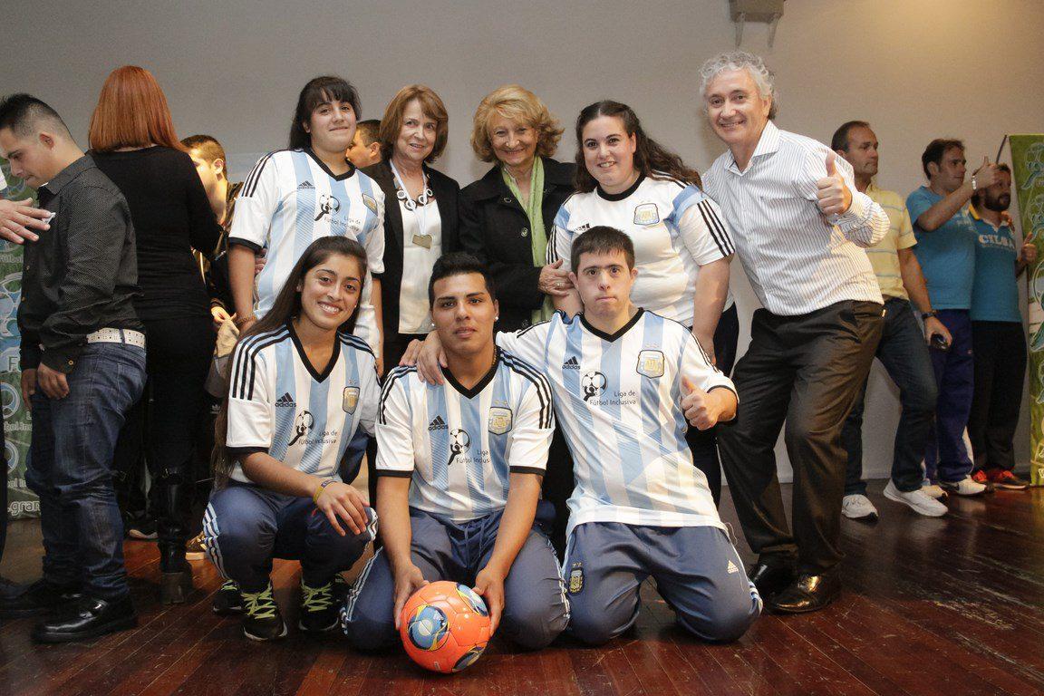 La Liga de Fútbol Inclusiva se pone en marcha