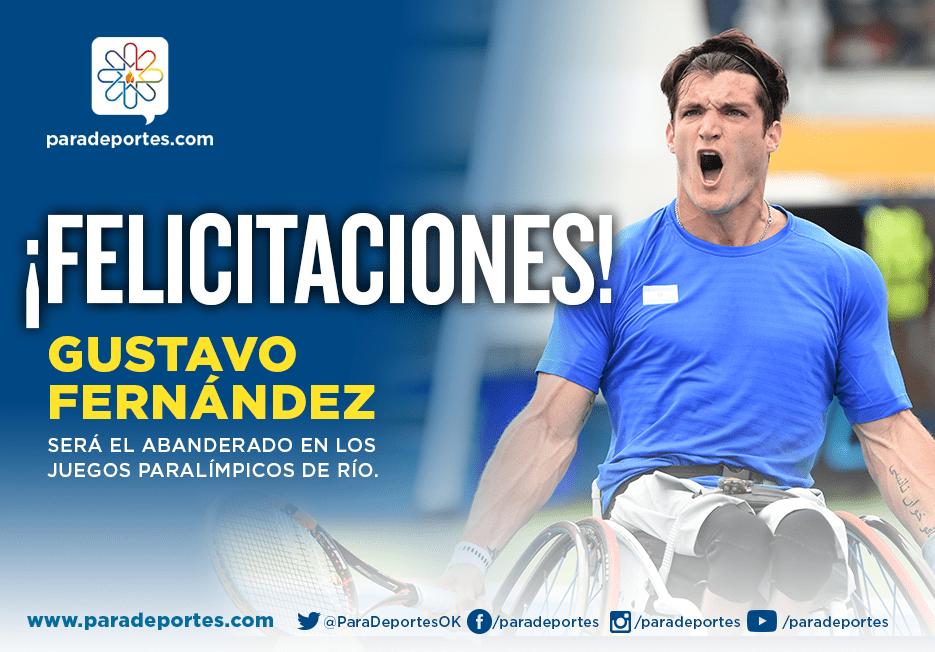 """Gustavo Fernández, abanderado argentino en Río 2016: """"Voy a llevar la bandera con mucho orgullo"""""""