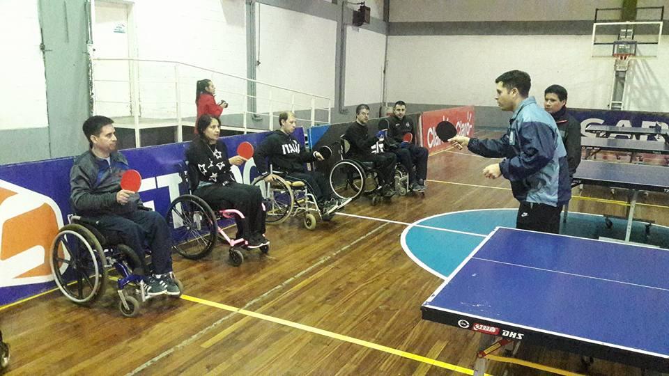 Tenis de mesa adaptado: actividades conjuntas en Córdoba