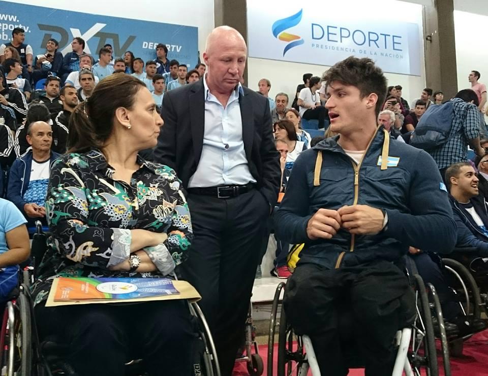 Michetti despidió a los atletas paralímpicos antes de Río 2016
