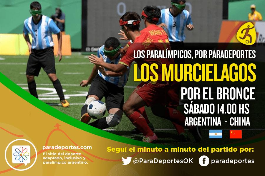 Fútbol 5: Los Murciélagos van por el bronce